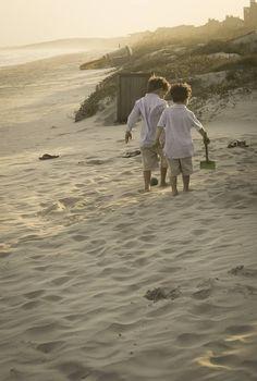 Boys on Kiawah Beach. Family photography