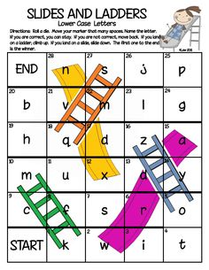 Slides and Ladders--Upper Lower Case Letters.pdf