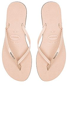 8e76f12ce63244 Havaianas You Flip Flop in Rose Gold Revolve Clothing