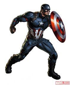 Images From A New Captain America Joins 'Marvel: Avengers Alliance 2' | Marvel.com