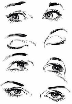 Eyes pencil drawings!
