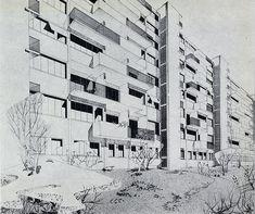 H. Pottier. Architecture D'Aujourd'Hui v. 25 no. 57 Dec 1954: 33