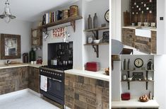 Arredamento per la cucina con i pallet - Fotogallery Donnaclick