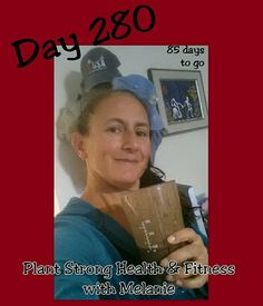 After workout shake, new addition to my hubby's hat collection.  Day 280 of 365 days, 85 days to go!  #superdensenutrition #GoldenScoop  #veganchocolate #365er #happy  #vitalbehaviors #hats #plantstronghealthandfitnesswithmelanie