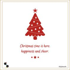 Christmas time is here, happiness and cheer. #MerryChristmas #StyleWork #Community #Unconventional #coworking