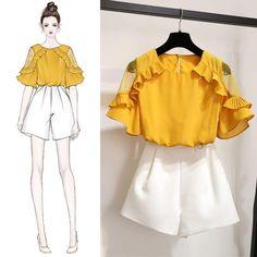 Korean fashion styles 701576448184426508 - I Really like spring korean fashion Source by Teen Fashion Outfits, Mode Outfits, Korean Outfits, Girl Fashion, Fashion Dresses, Fashion Spring, School Outfits, Korean Fashion Trends, Korea Fashion