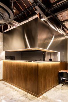 [401] 가정집개조 인테리어 / 성수동 리모델링식당 : 네이버 블로그 Bar Counter Design, Select Shop, Conference Room, Bathtub, Interior, Table, Image, Furniture, Home Decor