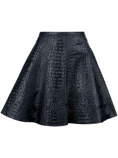 SACHIN + BABI 'Ana' pleated leather skirt