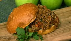 the chew | Recipe  | Mario Batali's Sloppy Joes