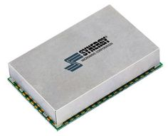 Synergy's ultra wide band (400 to 1100 MHz) small surface-mount synthesizer model MTS2500-40110-10