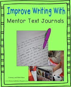 Are you looking for ways to supercharge your students' writing? Read all about mentor text journals. Click the image to see examples of student mentor text journals and learn strategies that you can use in your classroom.