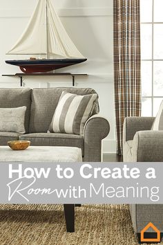 Here are three helpful steps on how to add a personal touch to any room in your home. Living Room Redo, Meant To Be, Throw Pillows, Touch, Bed, Inspiration, Furniture, Home Decor, Biblical Inspiration