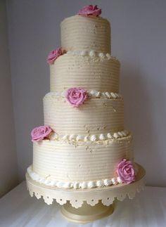 cute buttercream cake