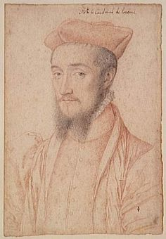 Charles, Cardinal of Lorraine, brother of Marie de Guise, Uncle of Mary, Queen of Scots