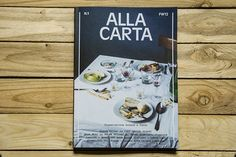 Between food and fashion: Alla Carta [Magazine] | Trendland