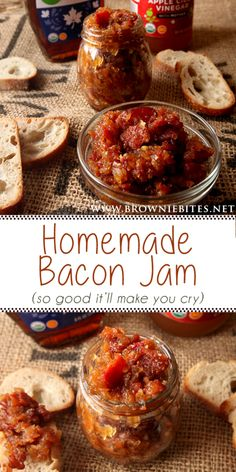 Jelly Recipes, Bacon Recipes, Jam Recipes, Canning Recipes, Milk Recipes, Jam And Jelly, Brownie Bites, Food Gifts, Food And Drink