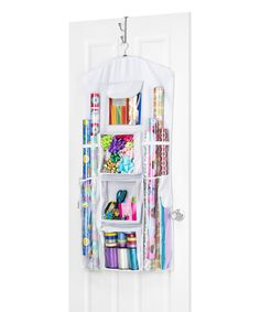 Another great find on #zulily! Hanging Gift Wrap Organizer by Whitmor #zulilyfinds