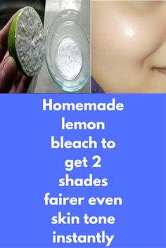 Homemade lemon bleach to get 2 shades fairer even skin tone instantly Facial bleach is usually done to get even skin tone and hide facial hair but sometimes it might cause serious side effects to your skin because of harsh chemicals present there Today we are going to tell you about 100% natural bleach that you can easily prepare at home, results are fast with no side …
