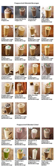 Starbucks menu #3