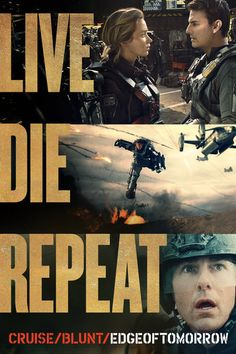 Live Die Repeat: Edge of Tomorrow - Doug Liman | Action &...: Live Die Repeat: Edge of Tomorrow - Doug Liman | Action… #ActionampAdventure