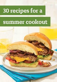 30 Recipes for a Summer Cookout — Our summer cookout menu means hot dogs on the grill, BBQ chicken wings, and recipes that range from sticky BBQ ribs to easy summer desserts.