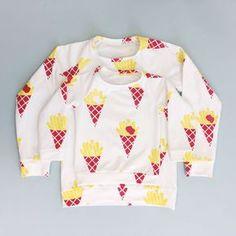 gratis patroon van Bobbinhood. 1 t/m 8 jaar https://www.freubelweb.nl/freubel-zelf/gratis-naaipatroon-sweater/