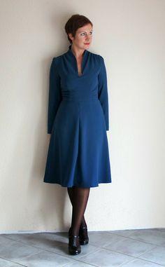 Tina´s Welt: Me made Mittwoch Nr. 49 - Das Endless Love Kleid - Butterick 5951