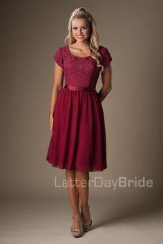 3e1a92dcf6ef For the modest bridesmaids Modest Bridesmaid Dresses, Red Bridesmaids, Modest  Dresses, Teen Dresses