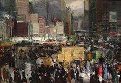 """George Bellows   """"New York"""""""