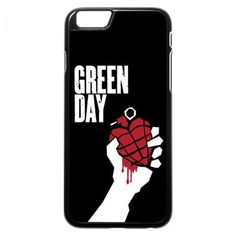 Green Day (american idiot logo) iPhone 6 6s Case ($97) ❤ liked on Polyvore featuring accessories and tech accessories