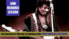 Jimi Hendrix: The Barre-Chord Roots of His Melodic Rhythm Guitar Style Jimi Hendrix Songs, Steve Cropper, Ike Turner, Curtis Mayfield, Electric Guitar Lessons, Hey Joe, Sci Fi Novels, Guitar Tutorial, Stage Show