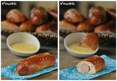 Pretzels de frankfurt con salsa de mostaza y miel | L'Exquisit