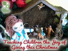 Teaching Children about the joy of giving this Christmas season Teaching Christmas Joy to Children