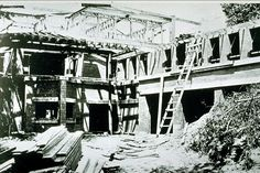 HOUSE: Under Construction is the Robie House by Frank Lloyd Wright