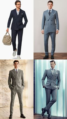 We highlight the 6 summer suits all stylish men should add to their tailoring collection and show you how to wear them. From contemporary two-button styles to statement-making options, these are the best summer suits you can buy in 2020 Mens Fashion Casual Shoes, Mens Fashion Suits, Mens Suits, Rockabilly Man, Double Breasted Suit Men, Suit Guide, Classy Suits, Summer Suits, Mens Clothing Styles