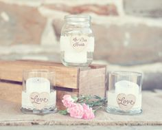 In Loving Memory Memorial Candle Holder Set by PNZ by PNZdesigns, $19.50