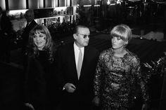 Françoise Dorléac, Maurice Dorléac and Catherine Deneuve, 1965