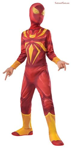 197a887bf Deluxe Iron Spider Costume
