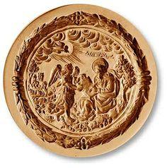 St. Matthew the Evangelist springerle cookie mold