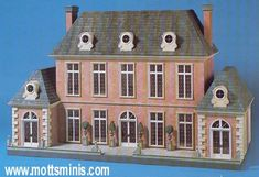 French Country Doll House designed by Daniel L. McNeil