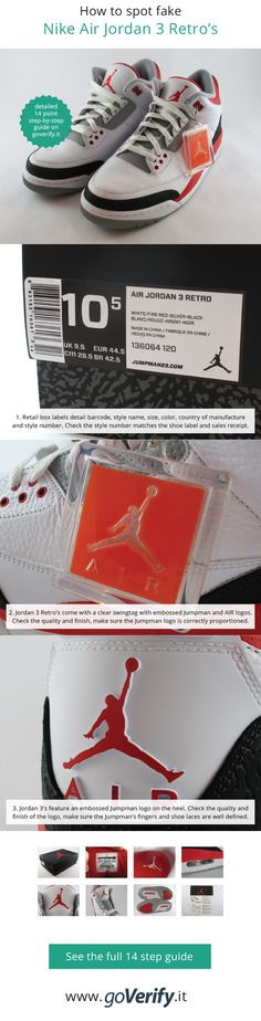 21 Best How to spot fake Air Jordan s images  b6272844f