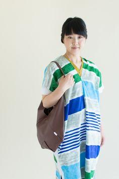 SOU・SOU 着衣 知多木綿 特文 長方形衣(とくぶん ちょうほうけい) - 小幅の生地で作った貫頭衣