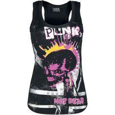 Tops & Tirantes Punks Not Dead por Alchemy England $19.99 ( euros) EMP Rock mailorder España