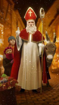 Saint-Nicolas dans Noël en #Alsace Bonne fête aux Nicolas!