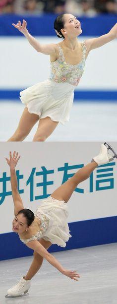Akikp Suzuki, White Figure Skating / Ice Skating dress inspiration for Sk8 Gr8 Designs.