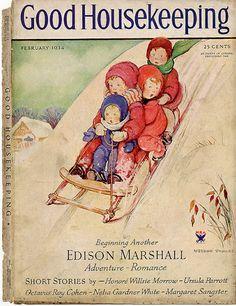 Good Housekeeping magazine cover, February 1934