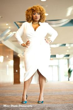 I love this dress on Shanda Freeman. Her style and her GORGEOUS hair always inspires me!