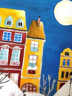 stefanie stark: Painting in progress