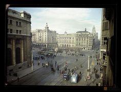 Plaza de España 1952 | por GAZA - Gran Archivo Zaragoza Antigua