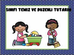 Temiz Preschool Rules, Classroom Rules, Career Education, Kindergarten, Clip Art, Songs, Teaching, Comics, School Routines